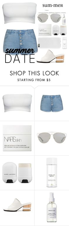 """""""#76"""" by juliamottat ❤ liked on Polyvore featuring Ally Fashion, NARS Cosmetics, Christian Dior, Marc Jacobs, H&M, Dear Frances and French Girl"""
