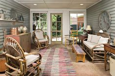 Screened Porch Country Porch Porch Screened In
