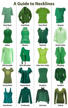 A Guide to Necklines