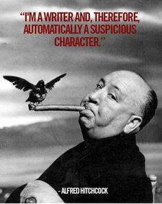Hitchcock quote Writers