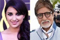 Parineeti Chopra and Amitabh Bachchan Parineeti Chopra, Amitabh Bachchan, Bollywood, Workshop, Cinema, Actors, Big, Movies, Atelier