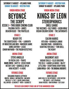 V Festival 2013 Lineup #vfestival