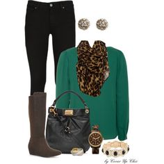 Casual Wear: Emerald, Black and Leopard