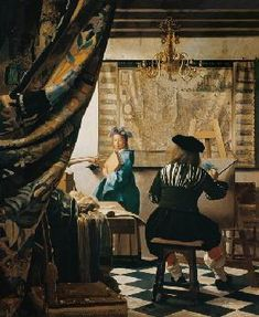 Jan Vermeer van Delft - Die Malkunst