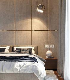 "Apartament 3 camere - Complex ""Nordis"" București - Creativ-Interior Interior, Minimalism, Bed, Modern, Furniture, Design, Home Decor, Granite Counters, Trendy Tree"