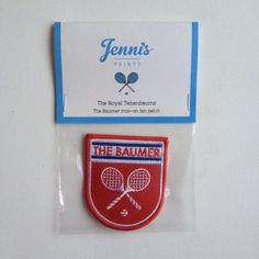 The Baumer Iron-On Patch, $10 | 23 Perfectly Quaint Wes Anderson Products