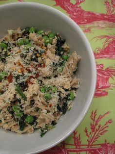 Easy simple dinner from a blog I just found, gotta try it on those hectic evenings.