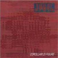 "Apryl: ""Corollari Di Figure"", 2000, studio album cover (Italy)"