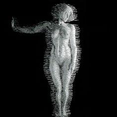 David Mach's Coat Hanger Sculptures: davidmach12.jpg