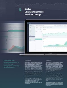 Scalyr Log Management Platform Product and UX Design