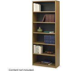 Safco ValueMate 6-shelf Steel Bookcase