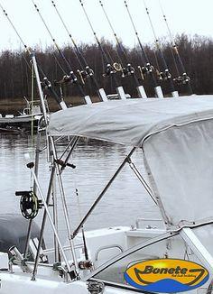 Fishing frame, Bonete PRO 175 for open boat (Bayliner trophy) / Nordic style