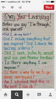Growth mindset.