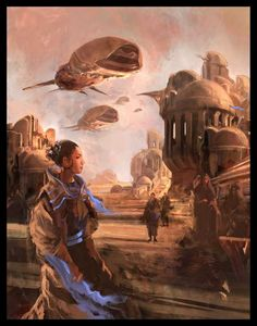 Nicolas Bouvier - Cover illustration for Dune 1 by Frank Herbert, 2005 Arte Sci Fi, Sci Fi Art, Sci Fi Fantasy, Fantasy World, Illustrations, Illustration Art, Dune Book, Art Science Fiction, Dune Frank Herbert