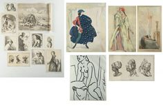 Lot of Prints and Drawings : Lot 343