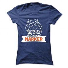 MARKER T Shirts, Hoodies. Check price ==► https://www.sunfrog.com/Camping/MARKER-114462954-Guys.html?41382 $19