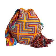 Wayuu Mochila Bag wayuu-bag-Desert-Flower-Bag