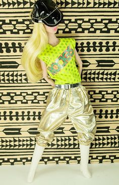 Barbie Vintage and The Rockers Jumpsuit #3173