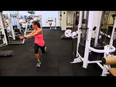 ▶ How to Use a Cable Pulley Machine, Gym Basics, Fit How To - YouTube