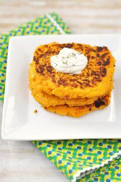 Sweet Potato & Sage P'cake Latkes