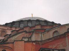Istanbul - Haga Sophia, the dome century). Copyright: © UNESCO, photo by Junaid Sorosh-Wali Hagia Sophia, Civilization, Taj Mahal, Louvre, Building, Places, Travel, Image, Lugares