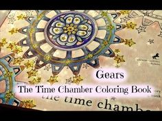 Adult Coloring Book: The Time Chamber by Daria Song | Gears - YouTube