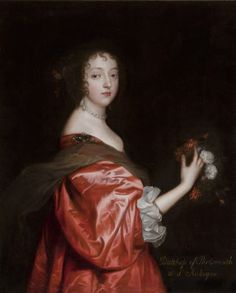 Catherine Howard, Lady d'Aubigny (d.1650) after Sir Anthony Van Dyck
