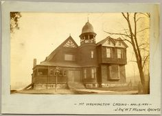 Mount Washington CasinoBaltimoreApril 19, 1886Unidentified photographerJohn Appleton Wilson CollectionMaryland Historical SocietyPP3.29.1 J.A. and W.T. Wilson, Architects.