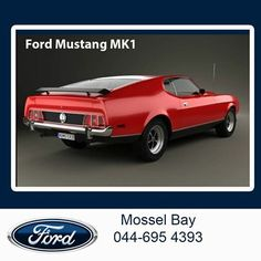 Welcome to Throw back Thursday at Mosselbaai Ford & Mazda. We all should know this beast from the past, the Ford Mustang MK1 was the powerhouse of its time and is still a very popular vehicle amongst enthusiasts. #tbt #fordclassics #legendaryvehicles