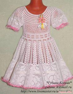 Vestido calado para las niñas .. Debate sobre LiveInternet - Servicio rusos Diarios Online