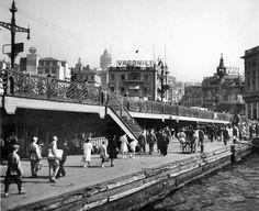 1933 öncesi Galata köprüsü