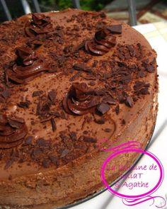 THE gâteau mousse au chocolat qui nous rend raide dingue!!!! 1
