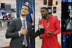 Jason Derulo gives Tony Reali his very own AMA in #SocialSquare