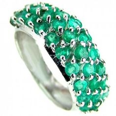 anel colméia de esmeralda em ouro 18k - Pesquisa Google