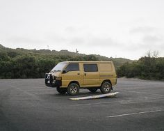 van-life:  Model: Mitsubishi Express 1996 Location: Denmark, Western Australia 2014 Photo: Bobby Mills #poler #polerstuff #campvibes