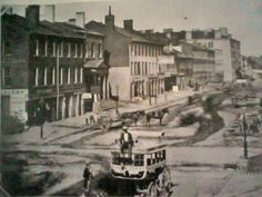 1850 - 3rd and Main looking East