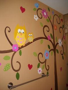Owl mural #owl #obsession