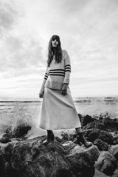 Factice Magazine January 2017 Katharina Holler by Aaron Feaver - Fashion Editorials