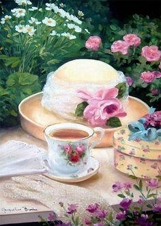 Garden tea ✿⊱╮