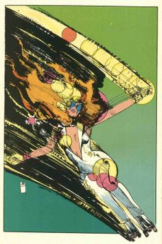 Dazzler by Bill Sienkiewicz My first comic books that I read :)