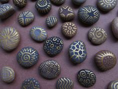 painted pebbles craft!  I could do these for hours and hours....