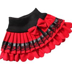 Cheap girls winter skirts, Buy Quality skirt children directly from China pleated skirt woolen Suppliers: 2017 The Latest Design Girls winter skirt children lace bow pleated skirts woolen skirt Korean wholesale 2 color Red black Toddler Skirt, Baby Skirt, Toddler Outfits, Kids Outfits, Little Girl Skirts, Skirts For Kids, Dresses Kids Girl, Kids Frocks Design, Baby Dress Design