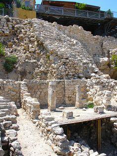 House of Ahiel in city of David Israel