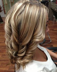 Perfect Blonde Highlights And Brunette Low lights   Full Dose