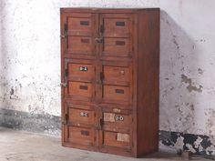 View our Vintage Lockers from the collection Hallway Storage, Cupboard Storage, Storage Cabinets, Locker Storage, Wooden Lockers, Vintage Lockers, Hallway Furniture, Living Room Furniture, Hallway Seating