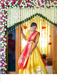 When you're looking for flower decorators in Hyderabad or Wedding Stage Decoration, choose the best professionals. Wedding Hall Decorations, Desi Wedding Decor, Wedding Mandap, Backdrop Decorations, Wedding Stage Design, Traditional Wedding Decor, Indian Wedding Photography Poses, Bridal Blouse Designs, Indian Wedding Outfits
