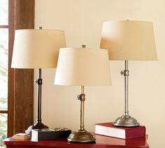 Chelsea Table & Bedside Lamp Base   Pottery Barn