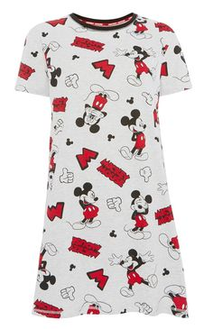 Night Shirts For Women, Night Dress For Women, Clothes For Women, Pajama Outfits, Disney Outfits, Disney Clothes, Primark, Mickey Mouse, Disney Mickey