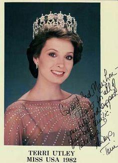 1982 miss usa Teri Utley Arkansas
