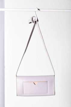 Bing Bang x UO Crossbody Bag - the PERFECT grey and blush leather combo with rose gold hardware!!
